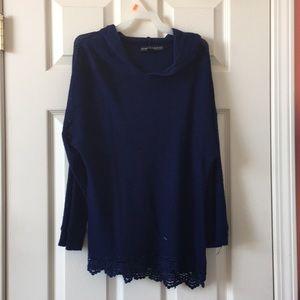Navy blue girls xl light sweater